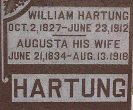 HARTUNG, AUGUSTA - Dodge County, Nebraska | AUGUSTA HARTUNG - Nebraska Gravestone Photos