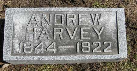 HARVEY, ANDREW - Dodge County, Nebraska | ANDREW HARVEY - Nebraska Gravestone Photos