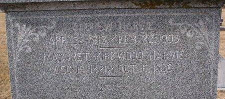 HARVIE, MARGRET (CLOSE UP) - Dodge County, Nebraska | MARGRET (CLOSE UP) HARVIE - Nebraska Gravestone Photos