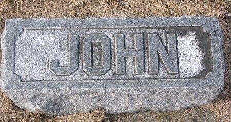 HARVIE, JOHN (FOOTSTONE) - Dodge County, Nebraska | JOHN (FOOTSTONE) HARVIE - Nebraska Gravestone Photos