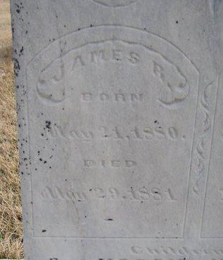 HARVIE, JAMES R. (CLOSE UP) - Dodge County, Nebraska | JAMES R. (CLOSE UP) HARVIE - Nebraska Gravestone Photos