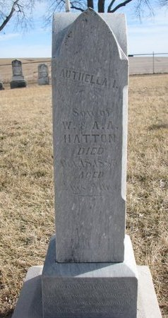 HATTON, AUTHELLA I. - Dodge County, Nebraska | AUTHELLA I. HATTON - Nebraska Gravestone Photos
