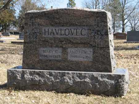 HAVLOVEC, MARY C. - Dodge County, Nebraska   MARY C. HAVLOVEC - Nebraska Gravestone Photos