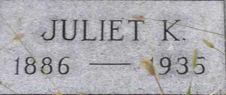 HECKER, JULIET - Dodge County, Nebraska   JULIET HECKER - Nebraska Gravestone Photos