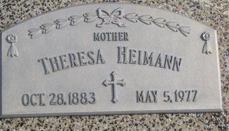 HEIMANN, THERESA - Dodge County, Nebraska   THERESA HEIMANN - Nebraska Gravestone Photos