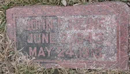HEINE, JOHN F. - Dodge County, Nebraska | JOHN F. HEINE - Nebraska Gravestone Photos