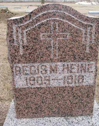 HEINE, REGIS M. - Dodge County, Nebraska | REGIS M. HEINE - Nebraska Gravestone Photos