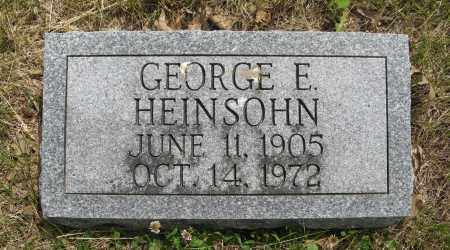 HEINSOHN, GEORGE E. - Dodge County, Nebraska | GEORGE E. HEINSOHN - Nebraska Gravestone Photos