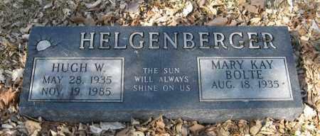HELGENBERGER, HUGH W. - Dodge County, Nebraska | HUGH W. HELGENBERGER - Nebraska Gravestone Photos