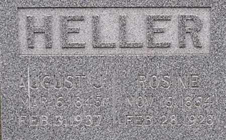 BAYER HELLER, ROSINE - Dodge County, Nebraska | ROSINE BAYER HELLER - Nebraska Gravestone Photos