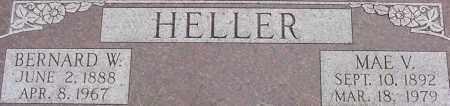 HELLER, BERNARD - Dodge County, Nebraska | BERNARD HELLER - Nebraska Gravestone Photos