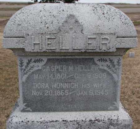 HELLER, DORA - Dodge County, Nebraska   DORA HELLER - Nebraska Gravestone Photos