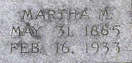 HELLER, MARTHA - Dodge County, Nebraska | MARTHA HELLER - Nebraska Gravestone Photos