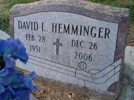 HEMMINGER, DAVID L. - Dodge County, Nebraska | DAVID L. HEMMINGER - Nebraska Gravestone Photos