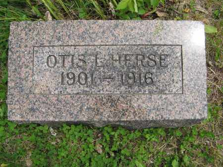 HERSE, OTIS L. - Dodge County, Nebraska | OTIS L. HERSE - Nebraska Gravestone Photos