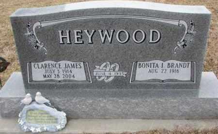 BRANDT HEYWOOD, BONITA I. - Dodge County, Nebraska | BONITA I. BRANDT HEYWOOD - Nebraska Gravestone Photos