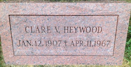 MUNDY HEYWOOD, CLARE V. - Dodge County, Nebraska | CLARE V. MUNDY HEYWOOD - Nebraska Gravestone Photos
