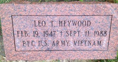HEYWOOD, LEO THOMAS - Dodge County, Nebraska | LEO THOMAS HEYWOOD - Nebraska Gravestone Photos