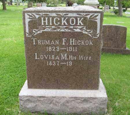 HICKOK, LOVISA M. - Dodge County, Nebraska | LOVISA M. HICKOK - Nebraska Gravestone Photos