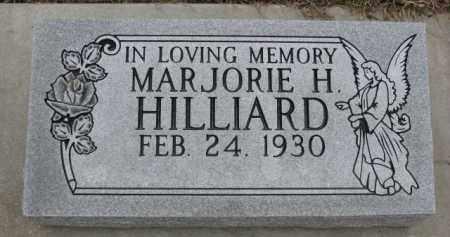 HILLIARD, MARJORIE H. - Dodge County, Nebraska | MARJORIE H. HILLIARD - Nebraska Gravestone Photos