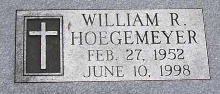 HOEGEMEYER, WILLIAM R - Dodge County, Nebraska   WILLIAM R HOEGEMEYER - Nebraska Gravestone Photos