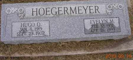 HOEGERMEYER, EVELYN - Dodge County, Nebraska | EVELYN HOEGERMEYER - Nebraska Gravestone Photos