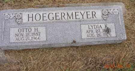HOEGERMEYER, LYDIA K - Dodge County, Nebraska | LYDIA K HOEGERMEYER - Nebraska Gravestone Photos