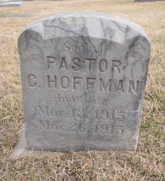 HOFFMANN, CARL - Dodge County, Nebraska | CARL HOFFMANN - Nebraska Gravestone Photos