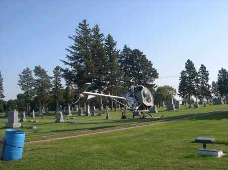 *HOOPER CEMETERY, HELICOPTER IN THE - Dodge County, Nebraska | HELICOPTER IN THE *HOOPER CEMETERY - Nebraska Gravestone Photos