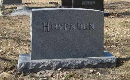 HOVENDEN, FAMILY - Dodge County, Nebraska   FAMILY HOVENDEN - Nebraska Gravestone Photos