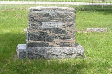 HULL, (FAMILY MONUMENT) - Dodge County, Nebraska   (FAMILY MONUMENT) HULL - Nebraska Gravestone Photos