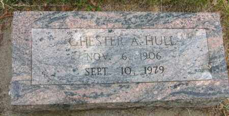HULL, CHESTER A. - Dodge County, Nebraska | CHESTER A. HULL - Nebraska Gravestone Photos