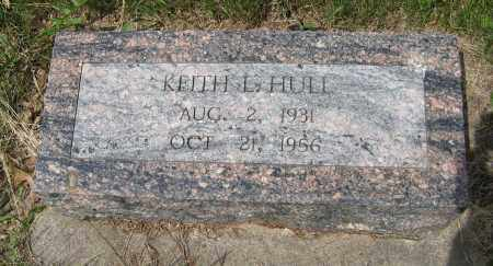 HULL, KEITH L. - Dodge County, Nebraska | KEITH L. HULL - Nebraska Gravestone Photos
