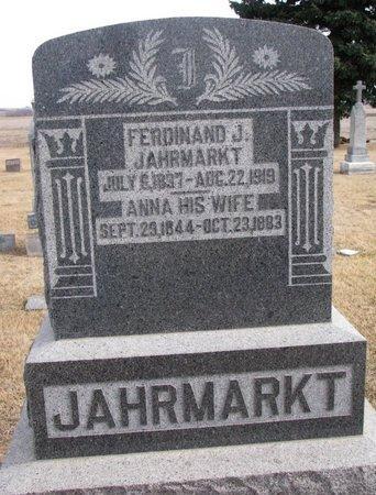 JAHRMARKT, FERDINAND J. - Dodge County, Nebraska | FERDINAND J. JAHRMARKT - Nebraska Gravestone Photos