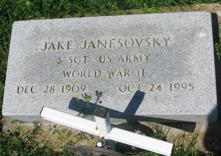 JANESOVSKY, JAKE - Dodge County, Nebraska | JAKE JANESOVSKY - Nebraska Gravestone Photos