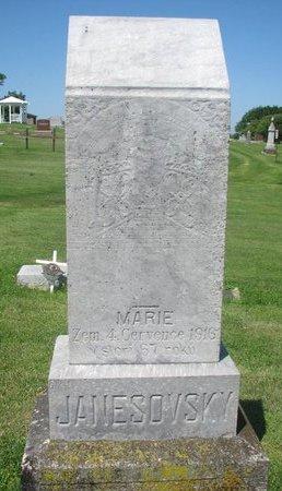 JANESOVSKY, MARIE - Dodge County, Nebraska | MARIE JANESOVSKY - Nebraska Gravestone Photos