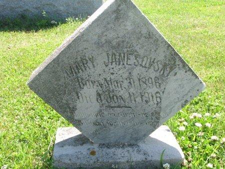 JANESOVSKY, MARY - Dodge County, Nebraska | MARY JANESOVSKY - Nebraska Gravestone Photos