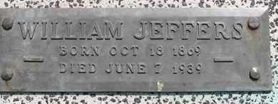 JEFFERS, WILLIAM - Dodge County, Nebraska | WILLIAM JEFFERS - Nebraska Gravestone Photos