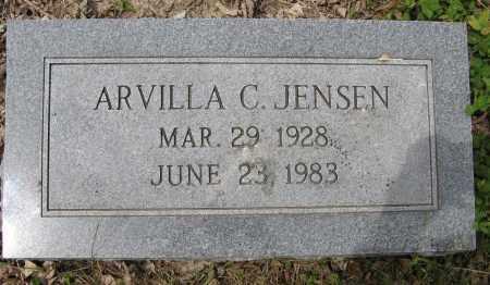 JENSEN, ARVILLA C. - Dodge County, Nebraska | ARVILLA C. JENSEN - Nebraska Gravestone Photos