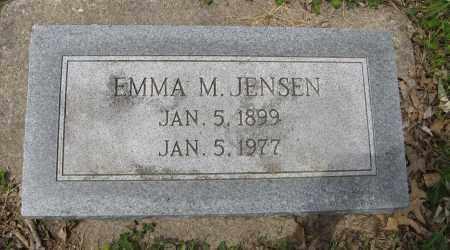JENSEN, EMMA M. - Dodge County, Nebraska | EMMA M. JENSEN - Nebraska Gravestone Photos
