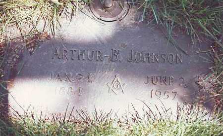 JOHNSON, ARTHUR BLAINE - Dodge County, Nebraska   ARTHUR BLAINE JOHNSON - Nebraska Gravestone Photos