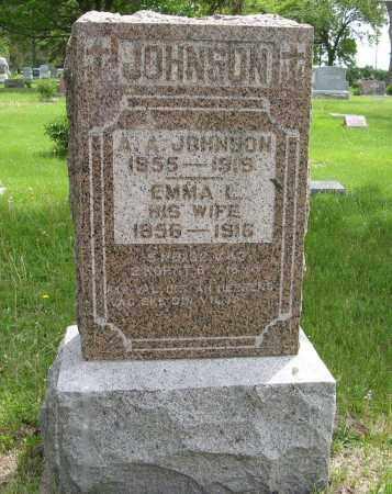 JOHNSON, A. A. - Dodge County, Nebraska | A. A. JOHNSON - Nebraska Gravestone Photos