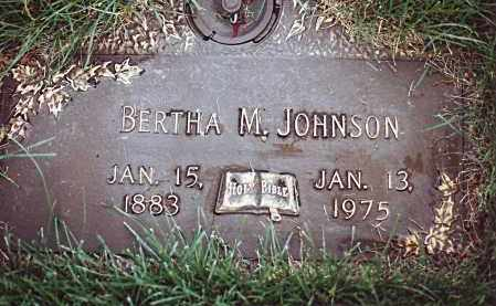 JOHNSON, BERTHA MATILDA - Dodge County, Nebraska | BERTHA MATILDA JOHNSON - Nebraska Gravestone Photos
