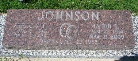 JOHNSON, FRANCIS M. - Dodge County, Nebraska   FRANCIS M. JOHNSON - Nebraska Gravestone Photos