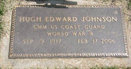 JOHNSON, HUGH EDWARD - Dodge County, Nebraska | HUGH EDWARD JOHNSON - Nebraska Gravestone Photos