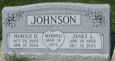 JOHNSON, JANET L. - Dodge County, Nebraska | JANET L. JOHNSON - Nebraska Gravestone Photos