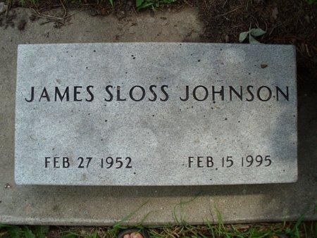 JOHNSON, JAMES SLOSS - Dodge County, Nebraska   JAMES SLOSS JOHNSON - Nebraska Gravestone Photos