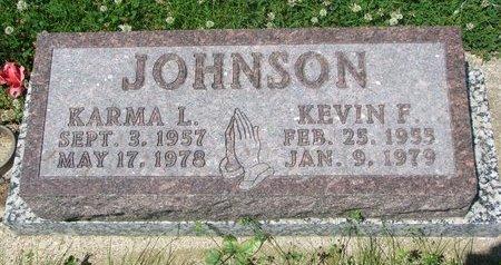 JOHNSON, KARMA L. - Dodge County, Nebraska | KARMA L. JOHNSON - Nebraska Gravestone Photos