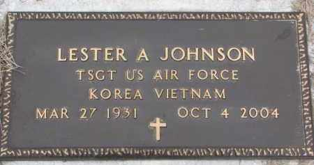 JOHNSON, LESTER A. - Dodge County, Nebraska | LESTER A. JOHNSON - Nebraska Gravestone Photos