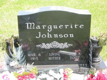JOHNSON, MARGUERITE HESTER - Dodge County, Nebraska | MARGUERITE HESTER JOHNSON - Nebraska Gravestone Photos
